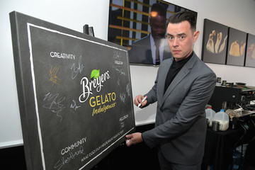 Colin Hanks Breyers Gelato Indulgences Gelateria Lounge at the 2017 Film Independent Spirit Awards