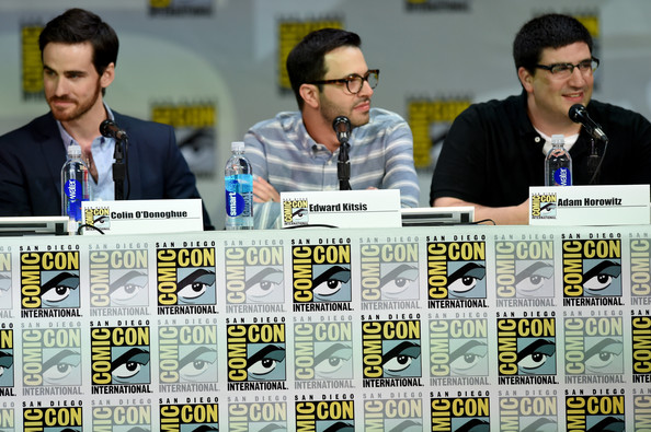 """ABC's """"Once Upon A Time"""" Panel - Comic-Con International 2014 [once upon a time,event,games,world,job,edward kitsis,adam horowitz,colin odonoghue,writer,l-r,san diego convention center,abc,panel,comic-con international]"""