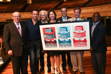Colin Reed Celebs Attend the Ryman Auditorium Unveiling