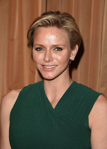 "Her serene highness, Princess Charlene.of Monaco, is honored with this year's ""Champion of Children"" Award at the Colleagues' 26th Annual Spring Luncheon at the Beverly Wilshire Four Seasons Hotel on April 29, 2014 in Beverly Hills, California."