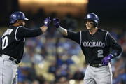 Troy Tulowitzki and Wilin Rosario Photos Photo