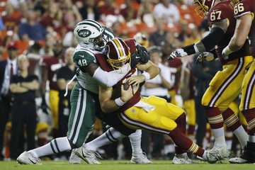 Colt Mccoy New York Jets v Washington Redskins
