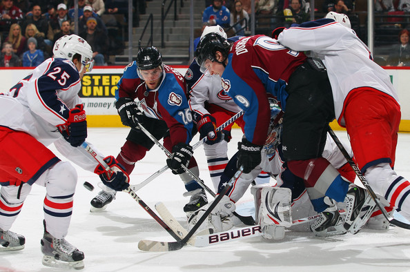 Paul Stastny Pictures Columbus Blue Jackets v Colorado Avalanche -