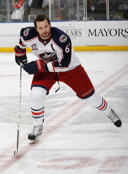 rick nash in columbus blue jackets v florida panthers zimbio