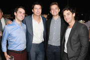 (L-R) Bobby Vance, Ken Marino, Chris Kelly and Paul W. Downs attend Comedy Central's Emmys Party at The Highlight Room at the Dream Hotel on September 16, 2018 in Hollywood, California.