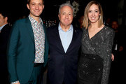 (L-R) Chris Kelly, Lorne Michaels, and Sarah Schneider attend Comedy Central's 'The Other Two' series premiere party at Dream Hotel Downtown on January 17, 2019 in New York City.