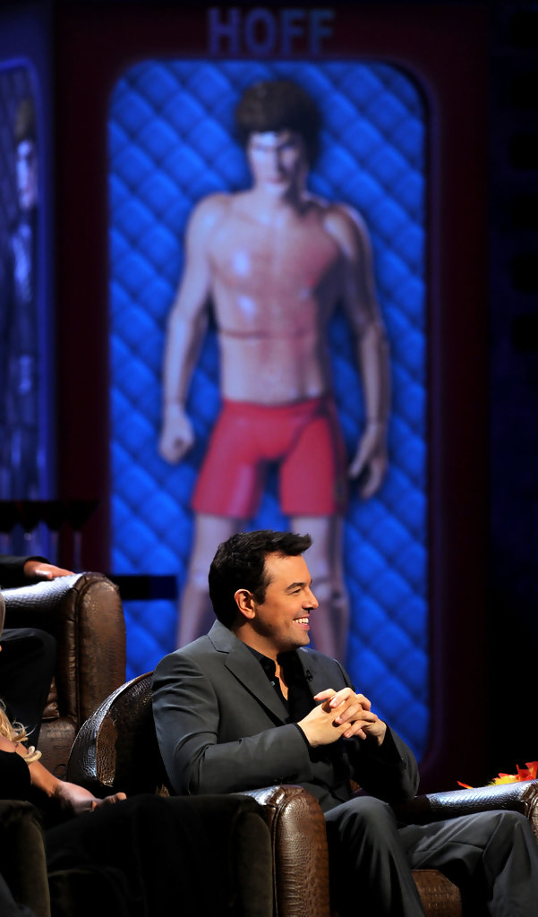seth macfarlane photos photos comedy central roast of david hasselhoff show zimbio. Black Bedroom Furniture Sets. Home Design Ideas