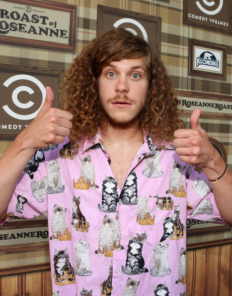 blake anderson short hair
