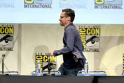 Director Bryan Singer appears onstage at the 20th Century FOX panel during Comic-Con International 2015 at the San Diego Convention Center on July 11, 2015 in San Diego, California.