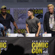 Jake Busey and Trevante Rhodes Photos