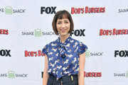 Kristen Schaal attends the Bob's Burgers x Shake Shack Pop Up during Comic-Con International 2018 at Shake Shack on July 20, 2018 in San Diego, California.