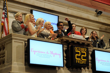 Nicole Sexton Committee Members For The 27th Annual Alzheimer's Association Rita Hayworth Gala Visit The New York Stock Exchange