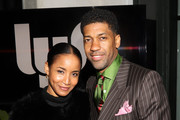 Fonzworth Bentley and Faune A. Chambers attend Common's 5th Annual Toast to the Arts  at Ysabel on February 22, 2019 in West Hollywood, California.