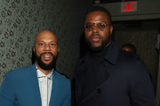 Common and Winston Duke attend Common's 5th Annual Toast to the Arts  at Ysabel on February 22, 2019 in West Hollywood, California.