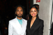 Miguel and Nazanin Mandi attend Common's 5th Annual Toast to the Arts  at Ysabel on February 22, 2019 in West Hollywood, California.
