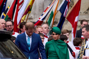 Prince Harry, Duke of Sussex and Meghan, Duchess of Sussex attend the Commonwealth Day Service 2020 at Westminster Abbey on March 09, 2020 in London, England. The Commonwealth represents 2.4 billion people and 54 countries, working in collaboration towards shared economic, environmental, social and democratic goals.