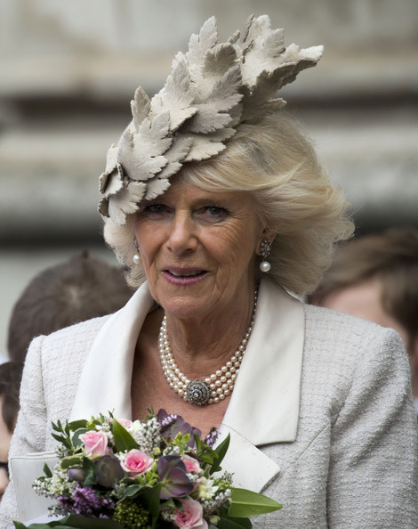 Camilla, Duchess of Cornwall attends the Commonwealth day observance service at Westminster Abbey on March 10, 2014 in London, England.