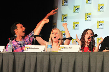 """Gillian Jacobs Alison Brie """"Community"""" - School Is Back In Session Panel - Comic-Con International 2012"""