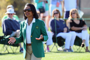Condoleezza Rice Drive, Chip and Putt Championship at Augusta National Golf Club