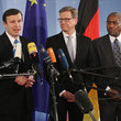 Chris Murphy and Guido Westerwelle Photos