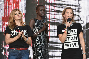 Connie Britton 2014 Global Citizen Festival In Central Park To End extreme Poverty By 2030 - Show