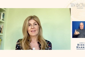 """Connie Britton """"We The People"""" Concert Celebrating The 59th Presidential Inauguration"""
