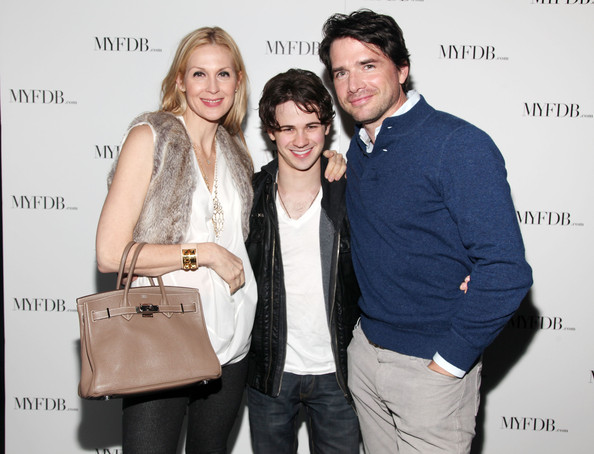 Matthew Settle and Connor Paolo Launch for My Fashion Database myfdbcom