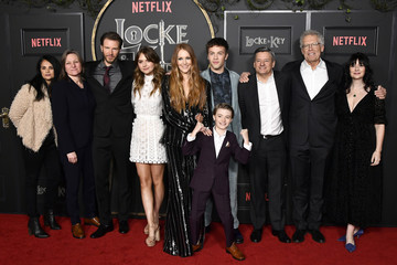 "Connor Jessup Cindy Holland Netflix's ""Locke & Key"" Series Premiere Photo Call"