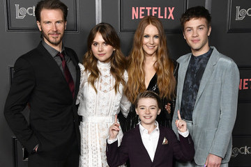 "Connor Jessup Emilia Jones Netflix's ""Locke & Key"" Series Premiere Photo Call"