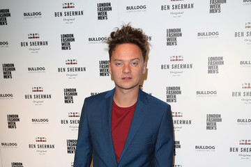 Conor Maynard Celebrities & Front Row - Day 1 - LFW Men's January 2017