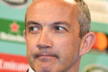 Conor O'Shea Rugby World Cup Pool Draw