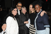 (L-R) Jurors Nadine Labaki, Jeff Goldblum, Dorothy Lyman, Mickey Sumner and Adepero Oduye attend Conrad Hotels & Resorts hosts the Tribeca Film Festival Awards Ceremony at Conrad New York on April 24, 2014 in New York City.