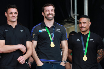 Conrad Smith New Zealand All Blacks Welcome Home Celebrations