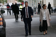 Lord Chancellor David Gauke arrives for the Conservative Leadership televised debate on June 18, 2019 in London, England. Emily Maitlis hosts the second of the televised Conservative Leadership debates for the BBC. Boris Johnson, Michael Gove, Jeremy Hunt, Rory Stewart and Sajid Javid made it through the second ballot while Dominic Raab did not. The third ballot will be held tomorrow, (Wednesday).