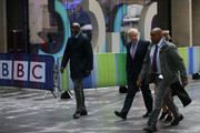 Boris Johnson MP (C) arrives for the Conservative Leadership televised debate on June 18, 2019 in London, England. Emily Maitlis hosts the second of the televised Conservative Leadership debates for the BBC. Boris Johnson, Michael Gove, Jeremy Hunt, Rory Stewart and Sajid Javid made it through the second ballot while Dominic Raab did not. The third ballot will be held tomorrow, (Wednesday).