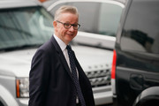 Environment Secretary Michael Gove arrives for day three of the Conservative Party Conference on October 2, 2018 in Birmingham, England. This year, the Conservative Party Conference is being held against a backdrop of party division on Brexit.  The Prime Minister is pushing ahead with her unpopular Chequers Deal which promises a softer Brexit creating a free trade area with the EU enabling frictionless access for goods and avoids the need for a hard border between Northern Ireland in Ireland. This plan has divided the Conservative party.