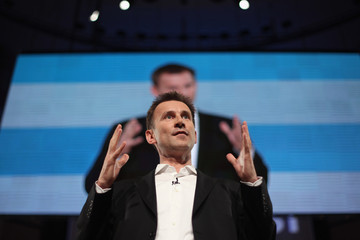 Jeremy Hunt The Conservative Party Hold Their Annual Party Conference - Day 1