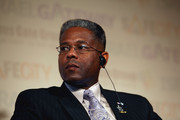 Allen West, a former U.S. Army lieutenant colonel an a 2010 Republican candidate for the United States Congress in Florida's District 22,  attends the Safe City security conference on December 1, 2009 in Tel Aviv, Israel. West, who resigned from the army in 2004 after being found guilty of assaulting an Iraqi police officer suspected of having information about planned attacks on American forces, is to meet with local law enforcement officials and visit the Yad Vashem Holocaust Memorail on his first visit to Israel.