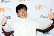 Actor Jackie Chan attends