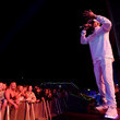 Coolio Festival Goers Attend Groovin The Moo In Canberra