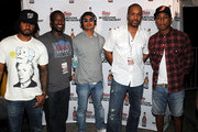 Shae Haley N.E.R.D, Abraham Minter Coors, Chad Hugo N.E.R.D, Sheldon Boyea Coors and Pharrell Williams N.E.R.D attend The Coors Light Super Cold Summer Kickoff Event at The Mansion Elan on May 25, 2011 in Atlanta, Georgia.