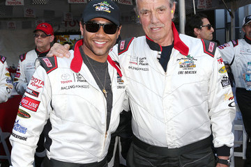 Corbin Bleu 37th Annual Toyota Pro/Celebrity Race: Day 1