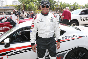 Corbin Bleu 37th Annual Toyota Pro/Celebrity Race - Day 2