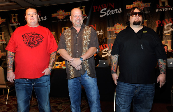 "Corey Harrison (L-R) Corey ""Big Hoss"" Harrison, Rick Harrison and"