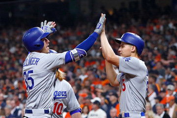 Corey Seager World Series - Los Angeles Dodgers v Houston Astros - Game Five
