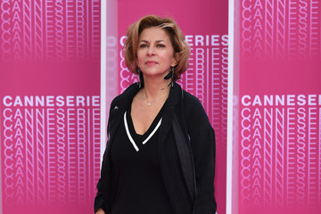 Corinne Touzet 'The Truth About The Harry Quebert Affair' Pink Carpet Arrivals - The 1st Cannes International Series Festival