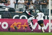 Jo of Corinthians scores their first goal during the match between Corinthians and Vasco da Gama for the Brasileirao Series A 2017 at Arena Corinthians Stadium on September 17, 2017 in Sao Paulo, Brazil.