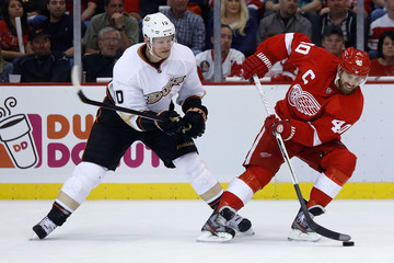 Correy Perry Anaheim Ducks v Detroit Red Wings - Game Three