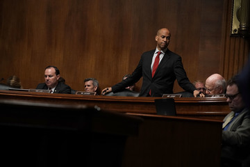 Cory Booker Senate Judiciary Committee Holds Full Committee Meeting On Pending Nominations