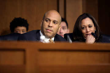 Cory Booker Senate Holds Hearing On School Safety And Parkland School Shooting